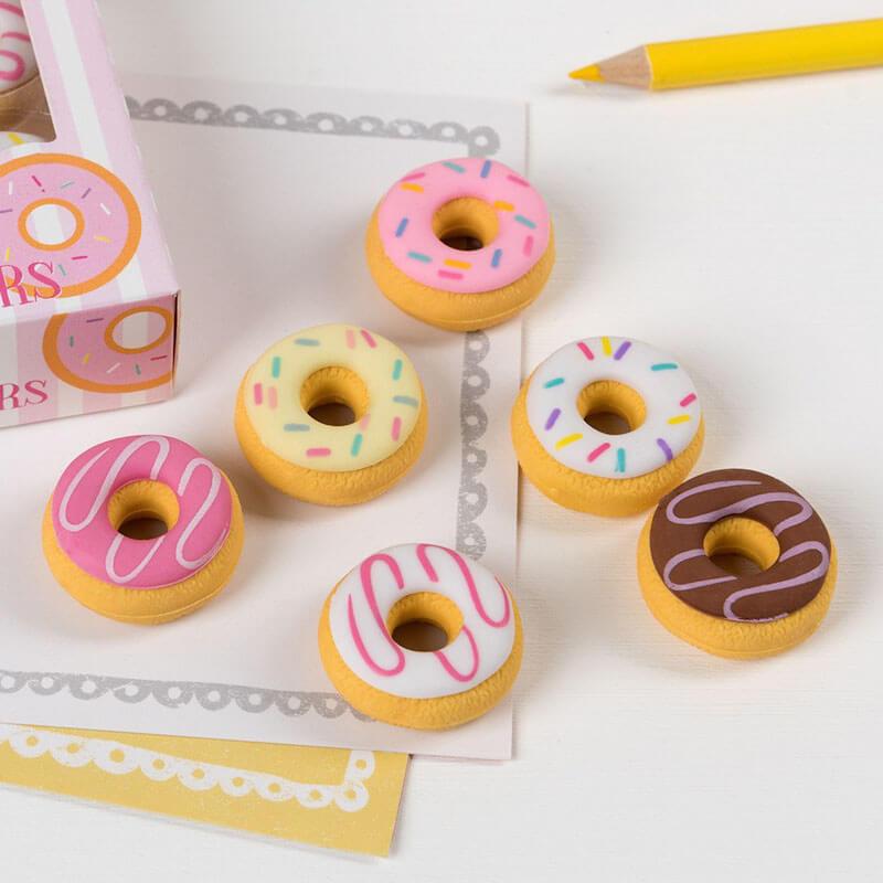 Scented Doughnut Erasers
