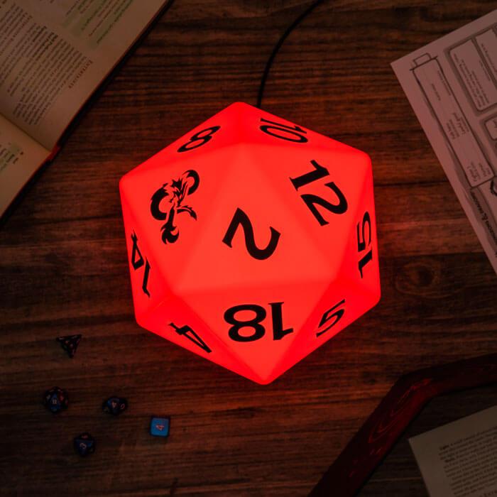 Dungeons & Dagons D20 Light