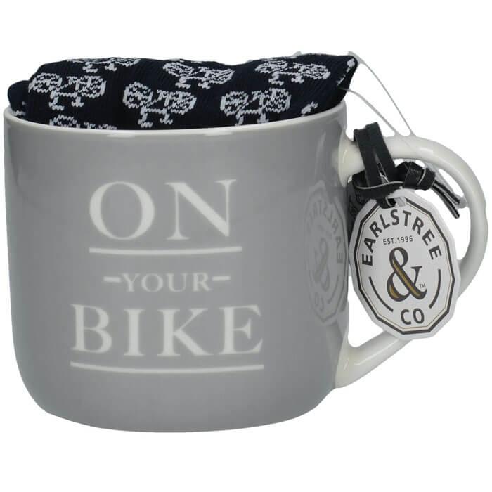 Earlstree & Co Coffee Mug & Socks Gift Set