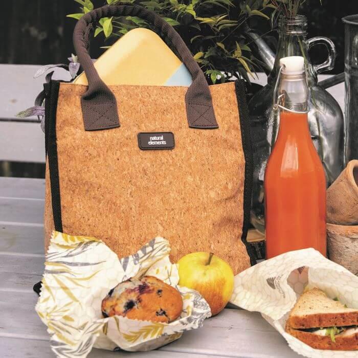 Eco-Friendly Cork Lunch Bag
