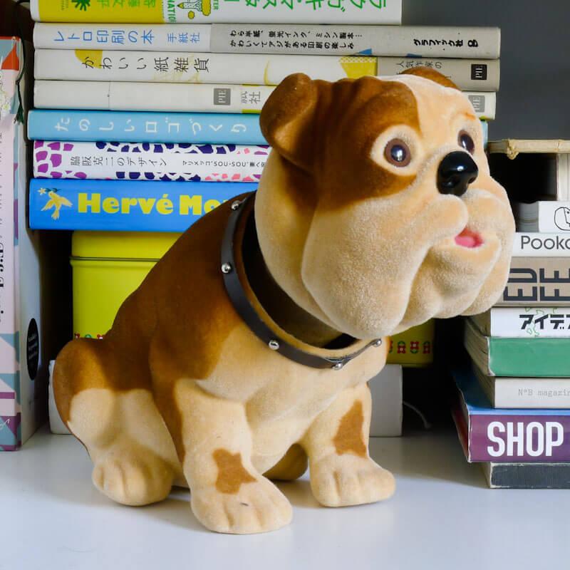 Edo Bobblehead Bulldog