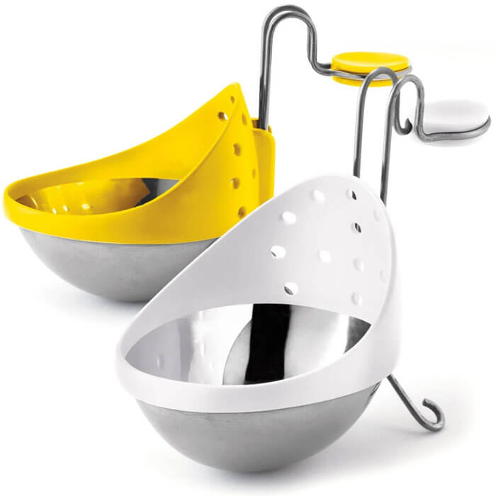 Yellow Egg Poacher- Set of 2