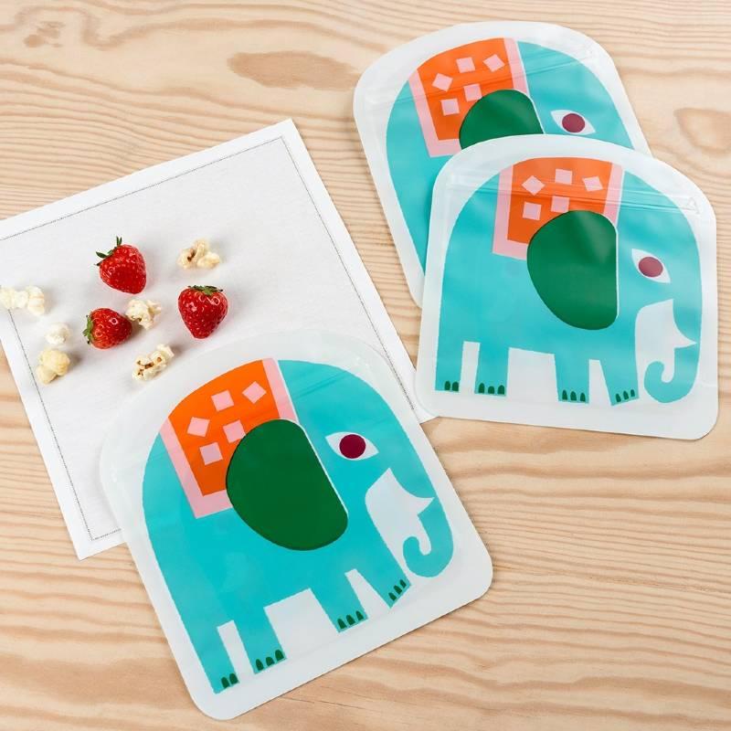 Elephant Snack Bags