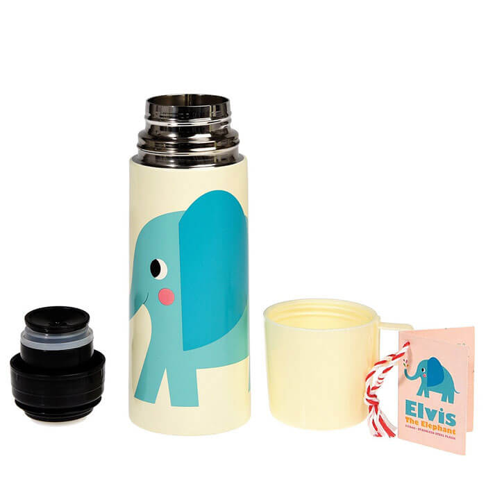 Elvis The Elephant Flask And Cup