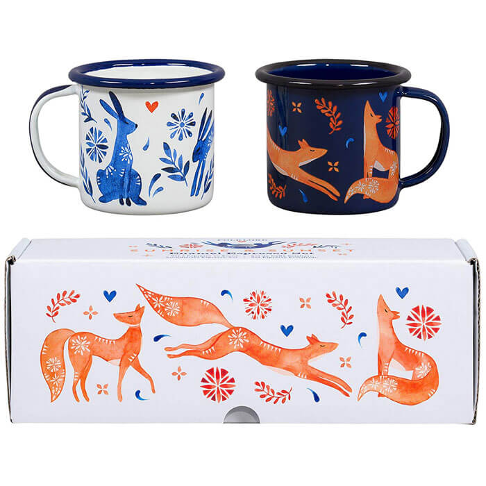 Espresso Set Hare and Fox