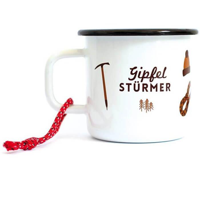 Gipfelstürmer Enamel Mug