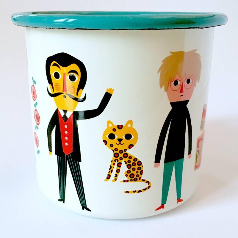 Enamel Mug Artists