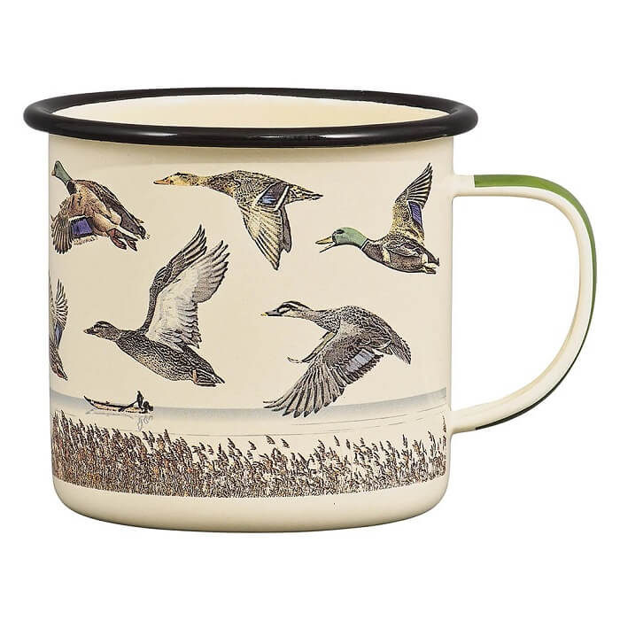 Lake & Ducks Enamel Mug
