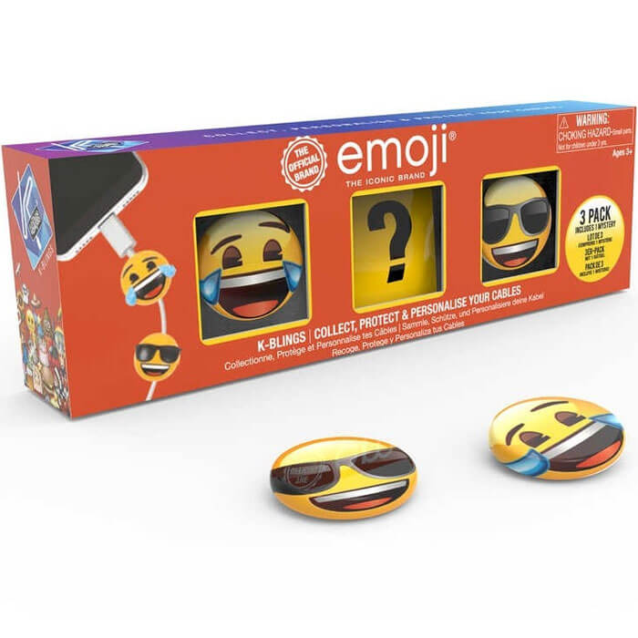 Emoji K-Bling Set of 3