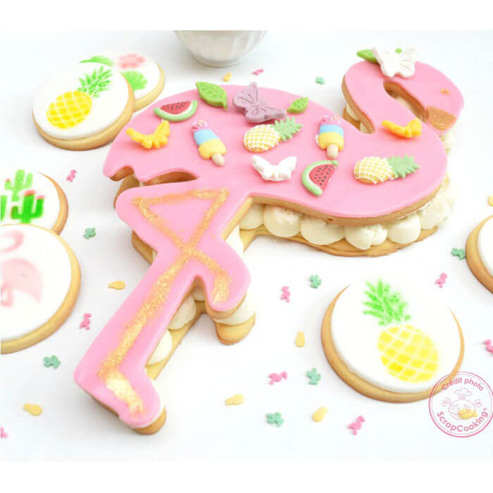 XXL Flamingo Cookie Cutter