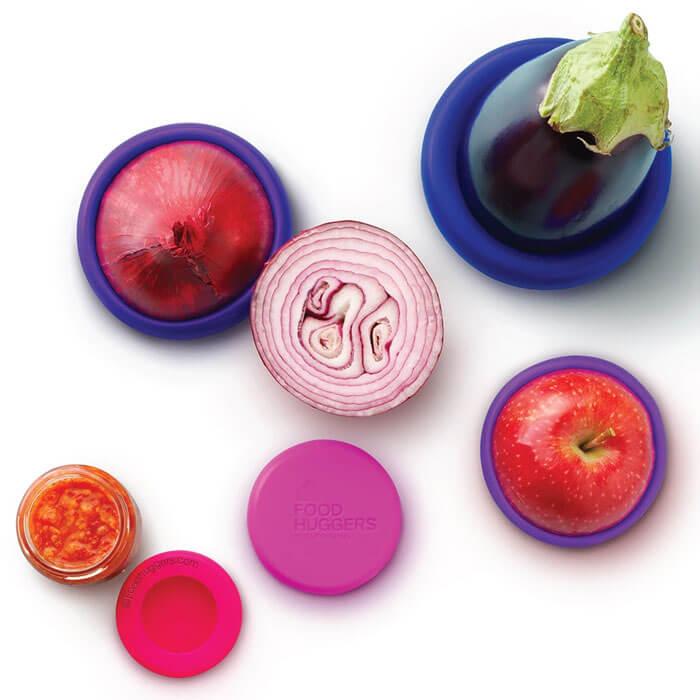Obst- und Gemüsedeckelset Food Huggers