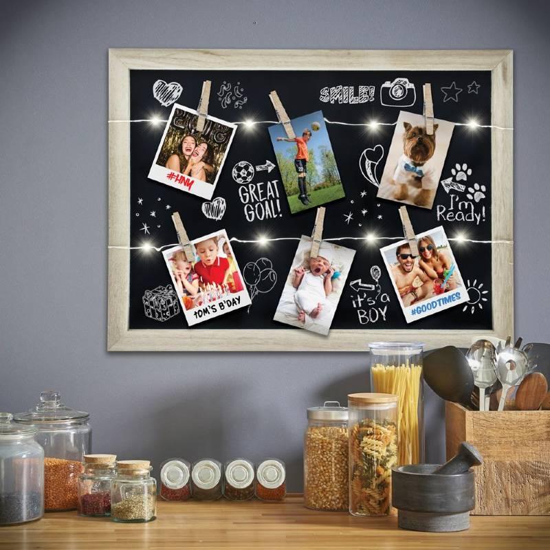 Light Up Photo Clip Chalkboard