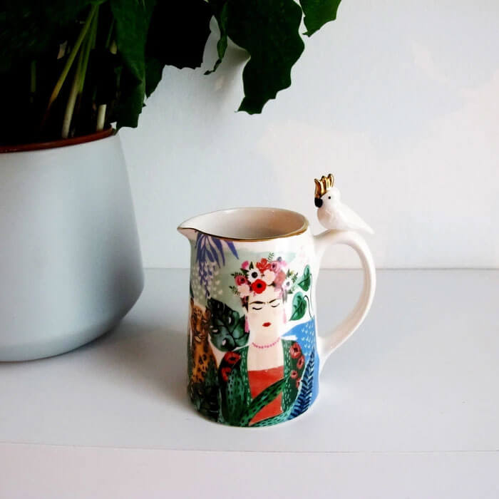 Frida Kahlo Milk Jug
