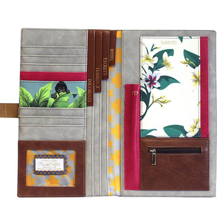 Frida Kahlo Travel Wallet