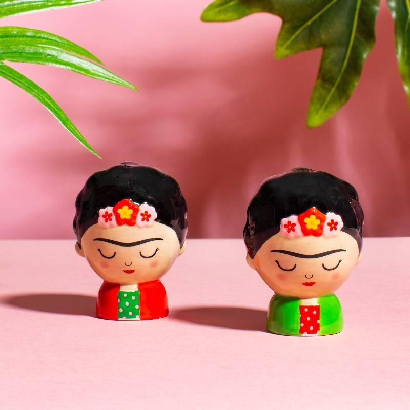 Frida Salt & Pepper Shakers
