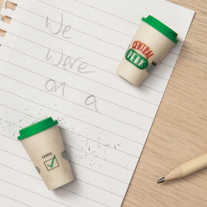 Central Perk Kaffeeduft-Radiergummis