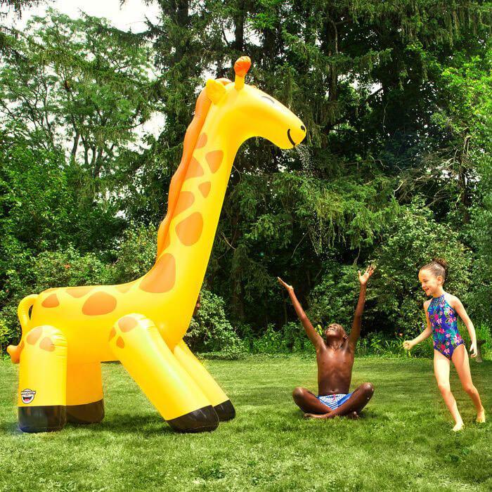 Ginormous Giraffe Yard Sprinkler