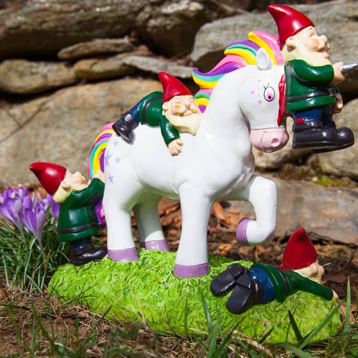 The Unicorn Garden Gnome Massacre