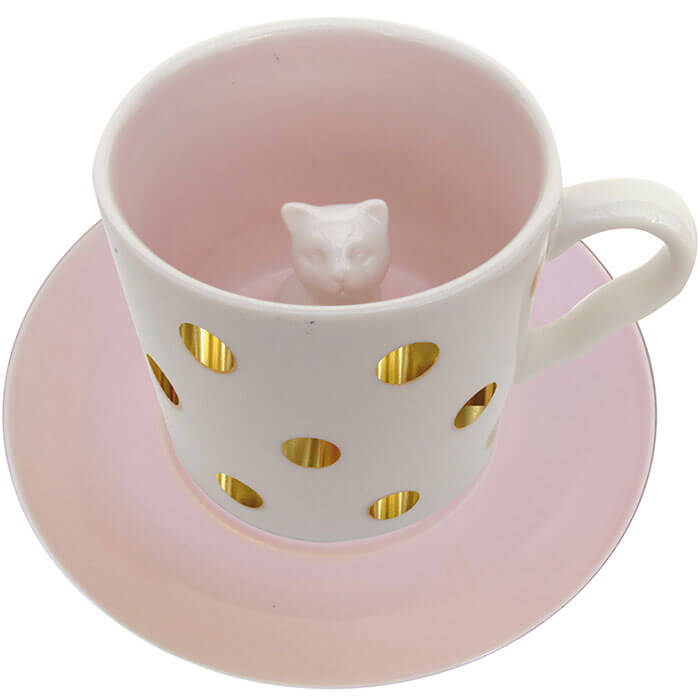 Spotty Cat Cup