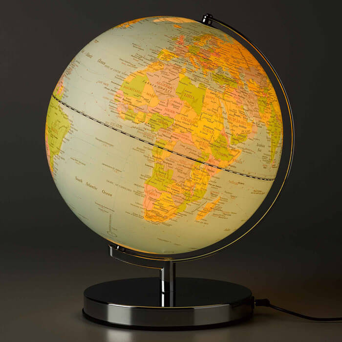 Klassischer Globus Mit Licht Gadgets Und Geschenke