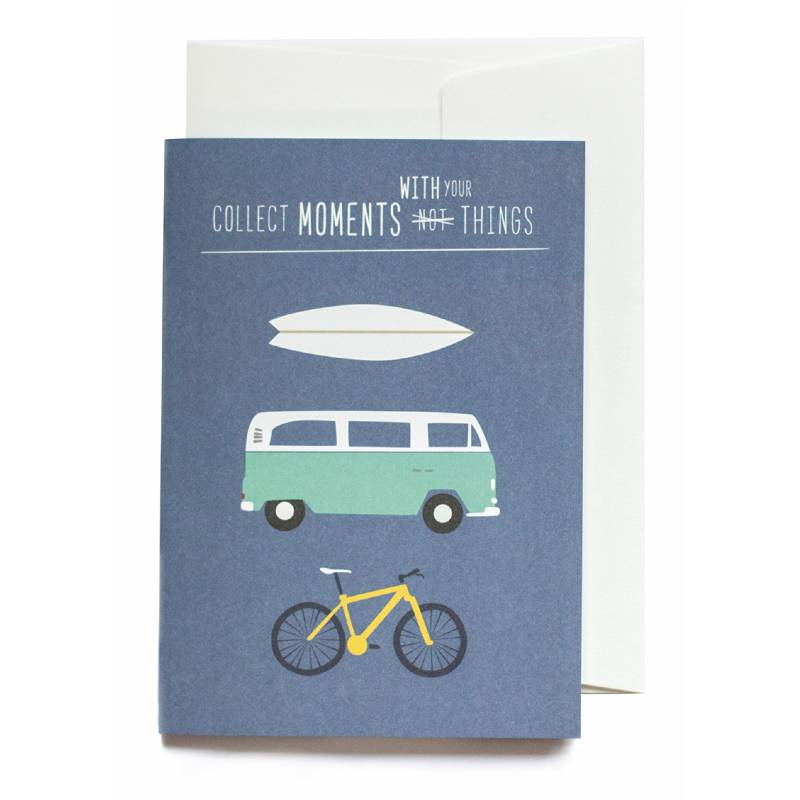 Greeting Card Collect Moments With Your Things