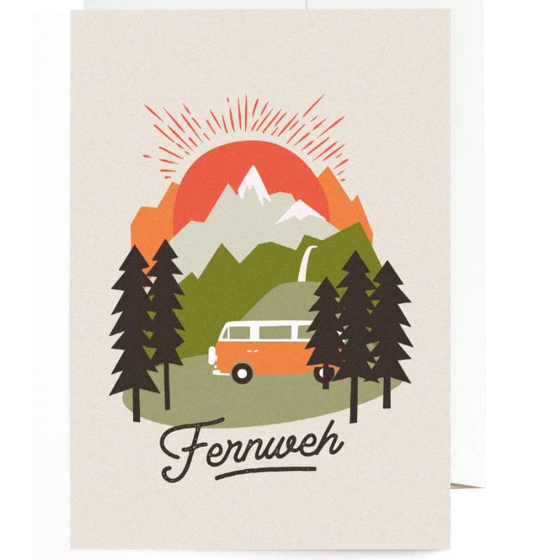 Greeting Card Fernweh