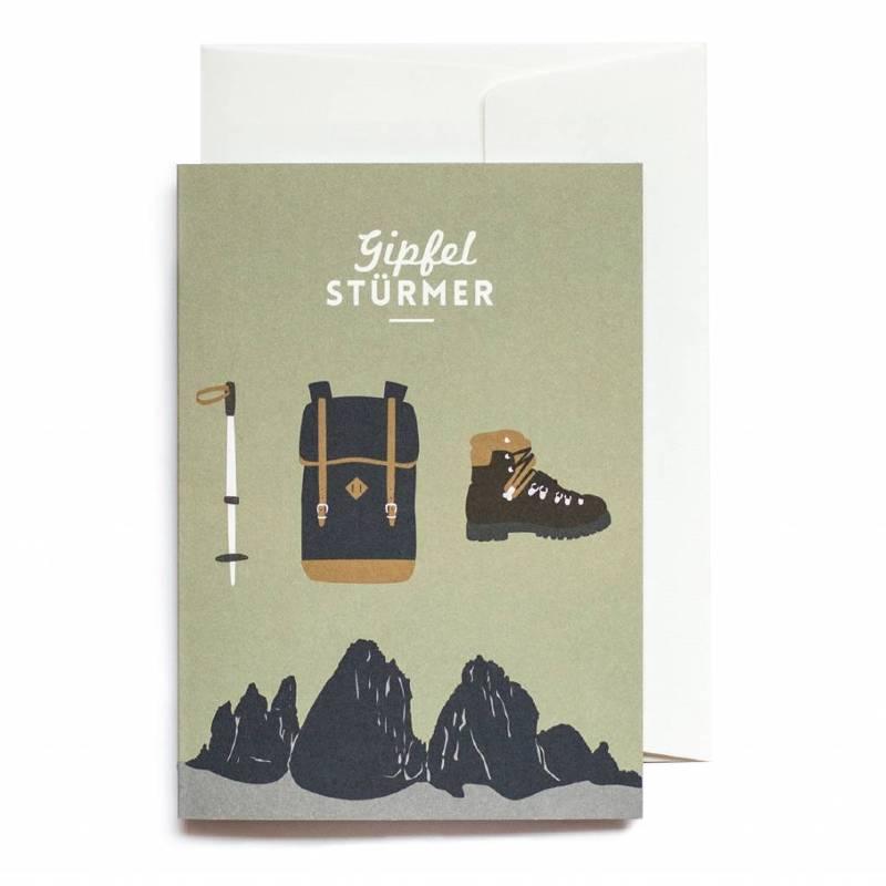 Greeting Card Gipfelstürmer