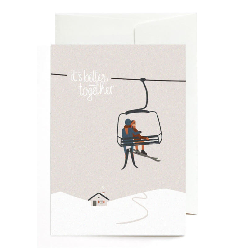 It's better together Greeting Card