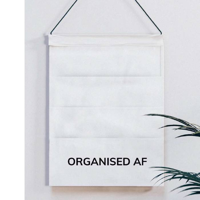 Organised AF - Hanging Organiser
