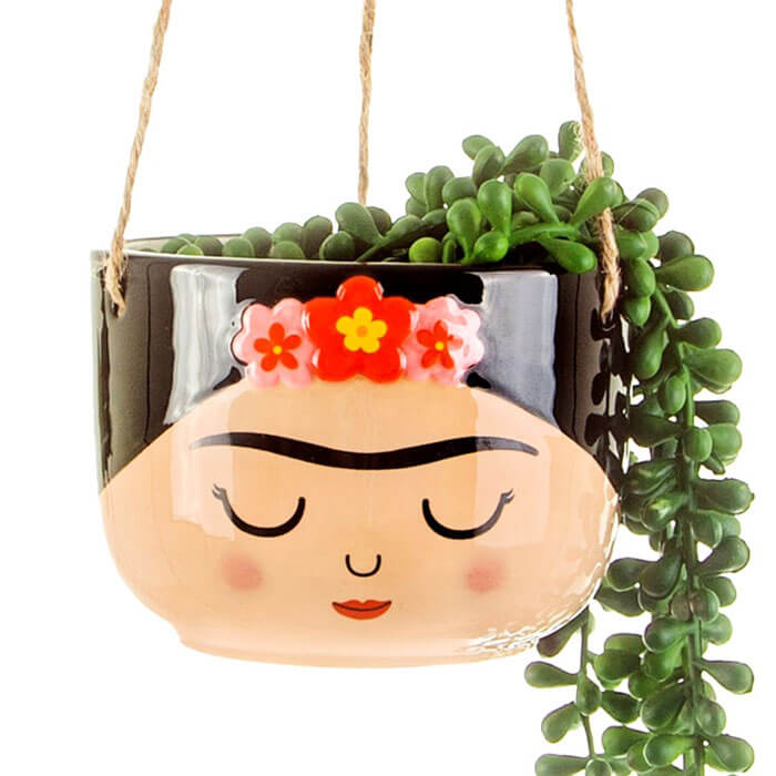 Cache-Pot Suspension Frida Kahlo