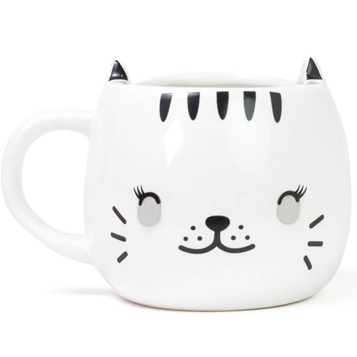 Happy Cat Heat Changing Mug