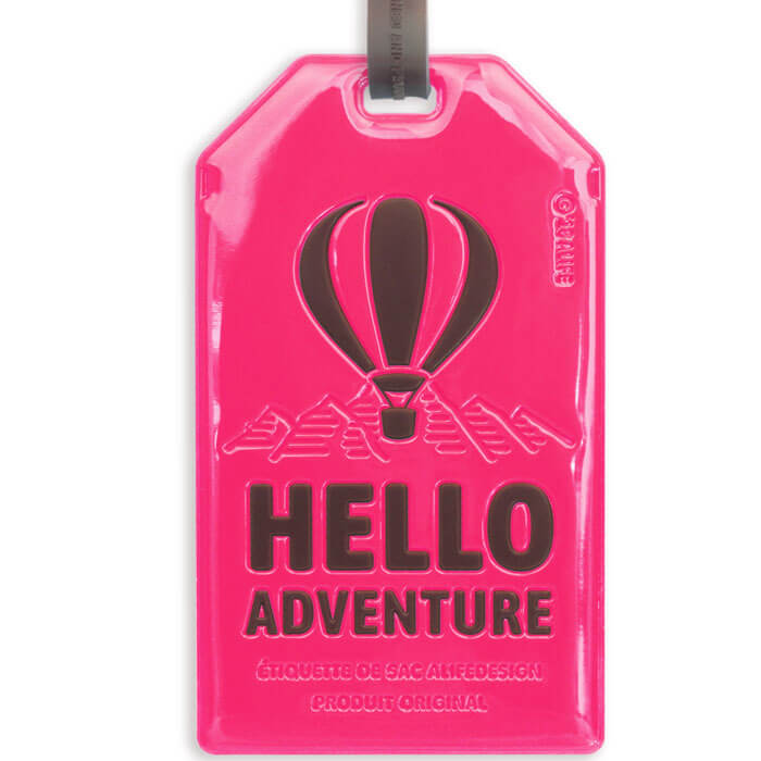 Hello Adventure Tag