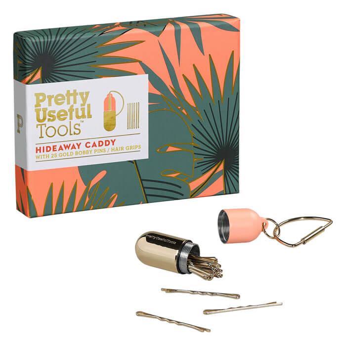 Haarklemmen-Schlüsselanhänger