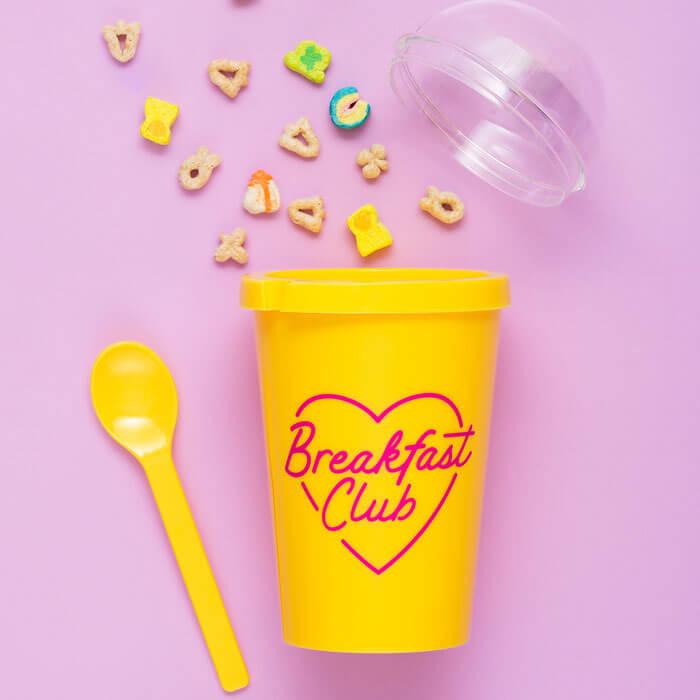 Yoghurt Cup Breakfast Club