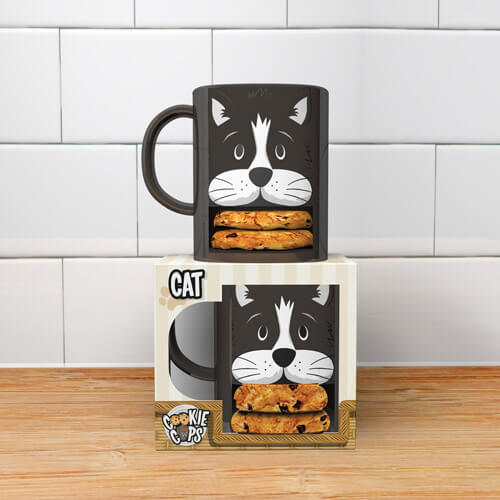 Cat Cookie Cup