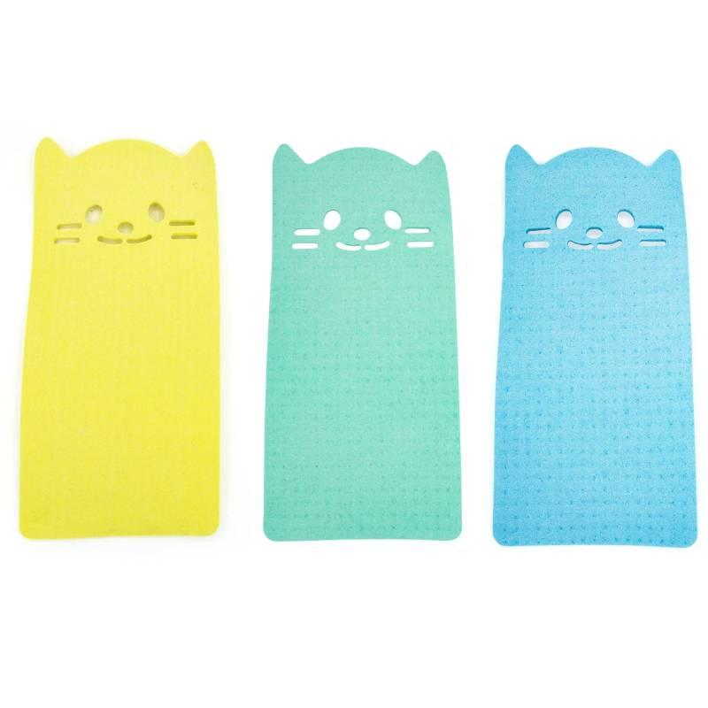 Reusable Kitty Dishcloths