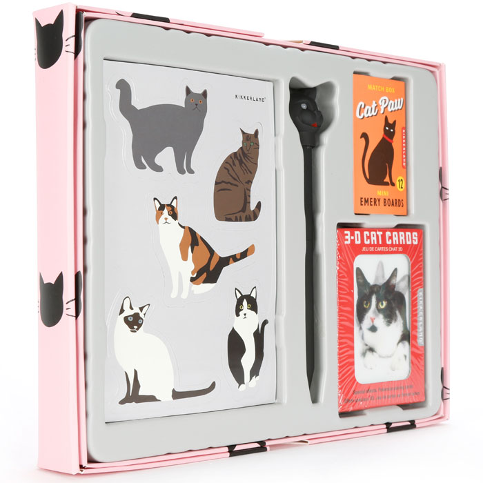 Cat Lovers Gift Set