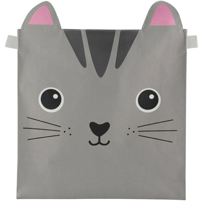 Nori Cat Kawaii Friends Storage Basket