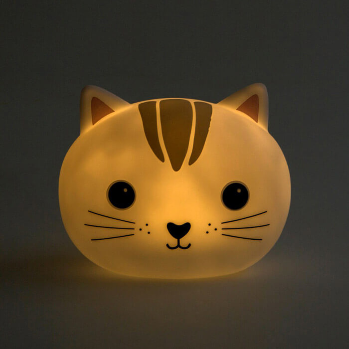 Kawaii Cat Night Light