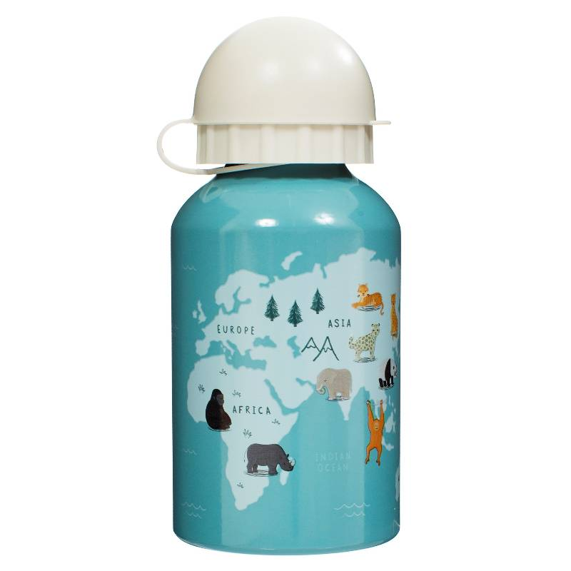 Endangered Animals Kids' Water Bottle
