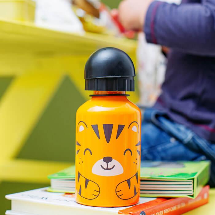 Tiger Kids Water Bottle