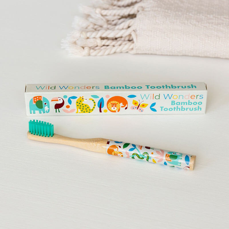 Wild Wonders Bamboo Toothbrush