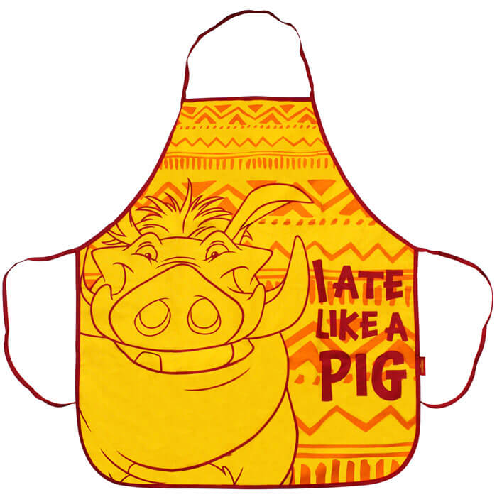 The Lion King Pumba Apron
