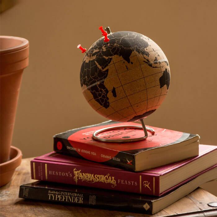 Small Cork Globe
