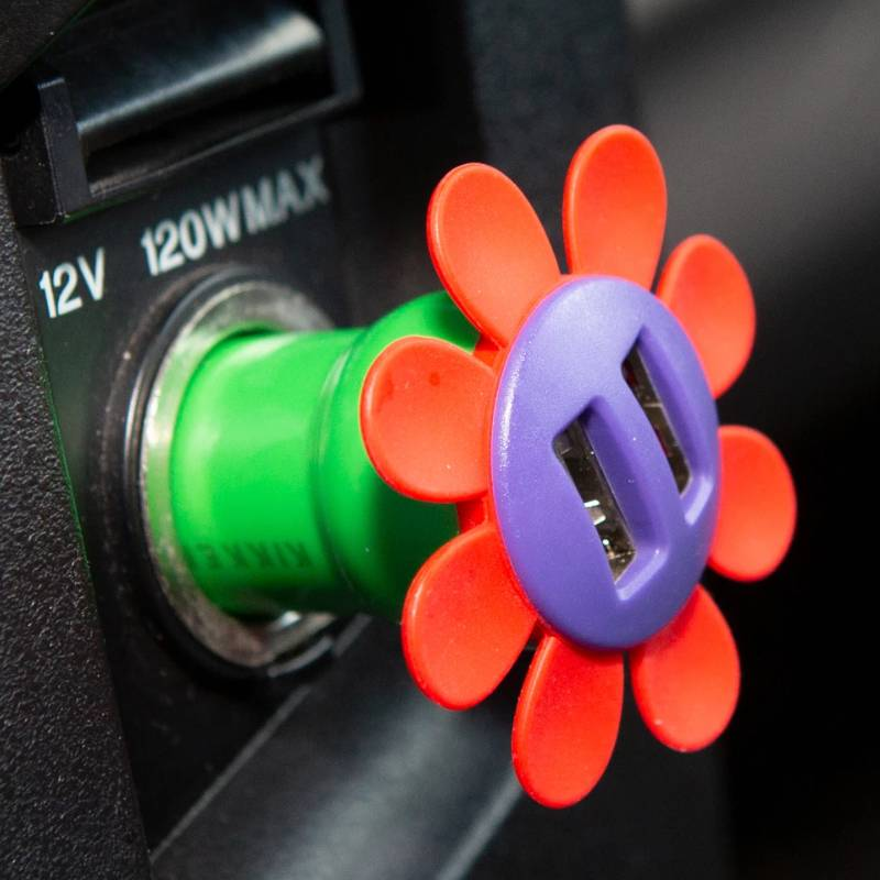 Flower Car Charger