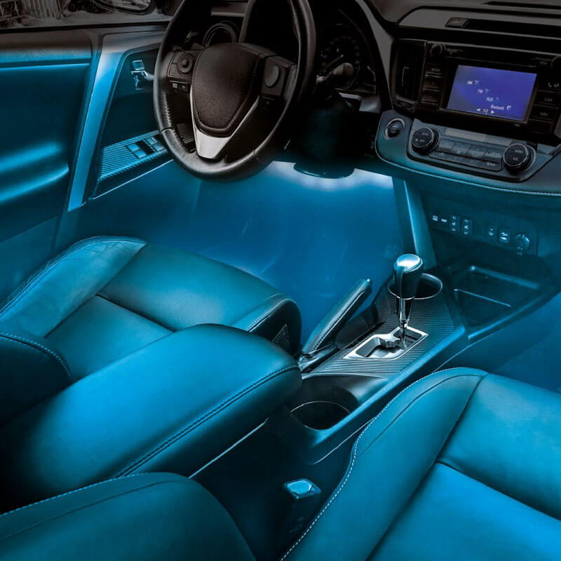 Colour-Changing Car Atmosphere LED Lights