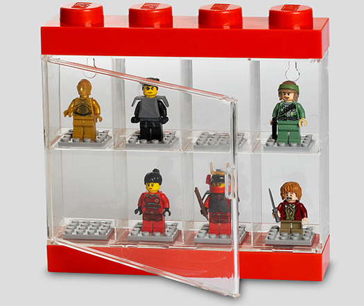 vitrine pour figurines lego gadgets et cadeaux originaux. Black Bedroom Furniture Sets. Home Design Ideas