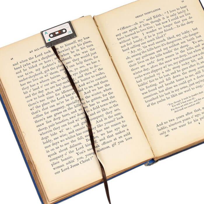 Cassette Tape Bookmark Set