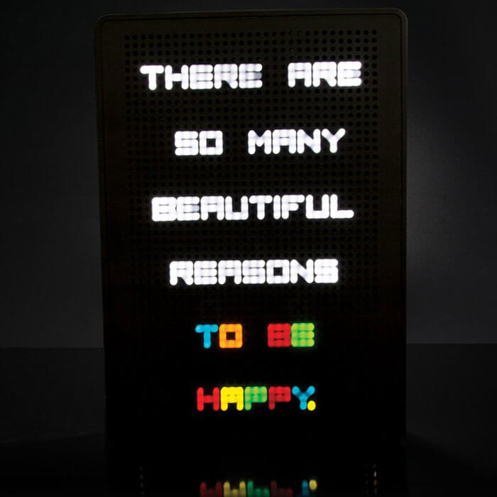 A4 Light Up Peg Board