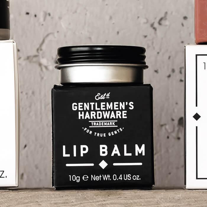 Lippenbalsam für Gentlemen